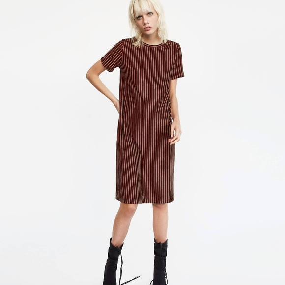 77236374067d Zara striped midi dress. M_5a64de57a44dbe3442eb35e3